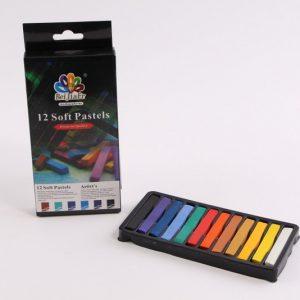 12 צבעי פסטל רכים