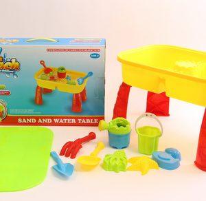 שולחן פעילות לחול ומים