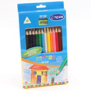 מארז עפרונות גמבו צבעוניים