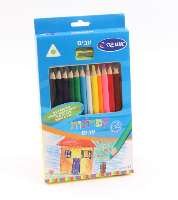 מארז עפרונות גמבו צבעוניים - אומגה