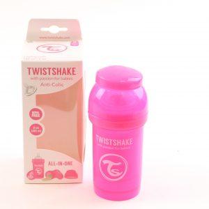 בקבוק לתינוק טויסט-שיק 180 – ורוד
