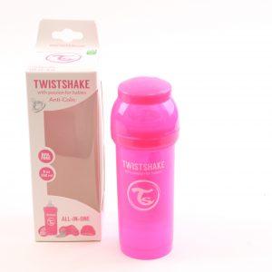 בקבוק לתינוק טויסט-שיק 260 – ורוד