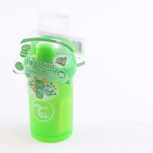 כוס שתייה לפעוטות טויסט-שיק 300 – ירוק