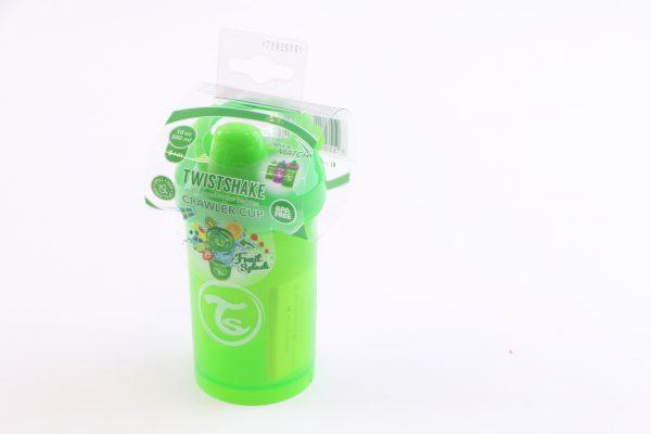 """כוס שתייה לפעוטות טוויסט שייק 300 מ""""ל- ירוק"""