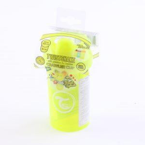 """כוס שתייה לפעוטות טוויסט שייק 300 מ""""ל- צהוב"""