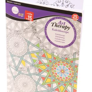 חוברת ART THERAPY - KALEIDOSCOPE מידה A4