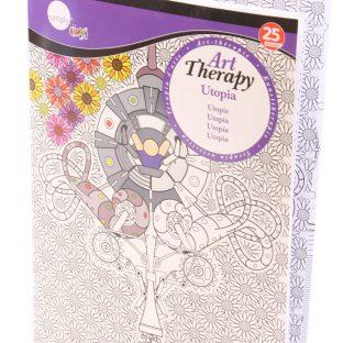 חוברת ART THERAPY - UTOPIA מידה A4