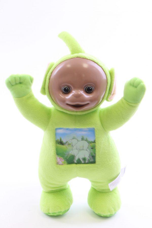 בובת טלטביס ירוקה