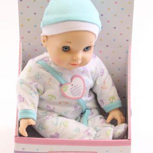 בובת תינוק YOU&ME מדברת – כחול