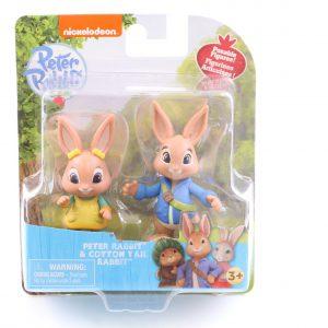 זוג דמויות פיטר הארנב