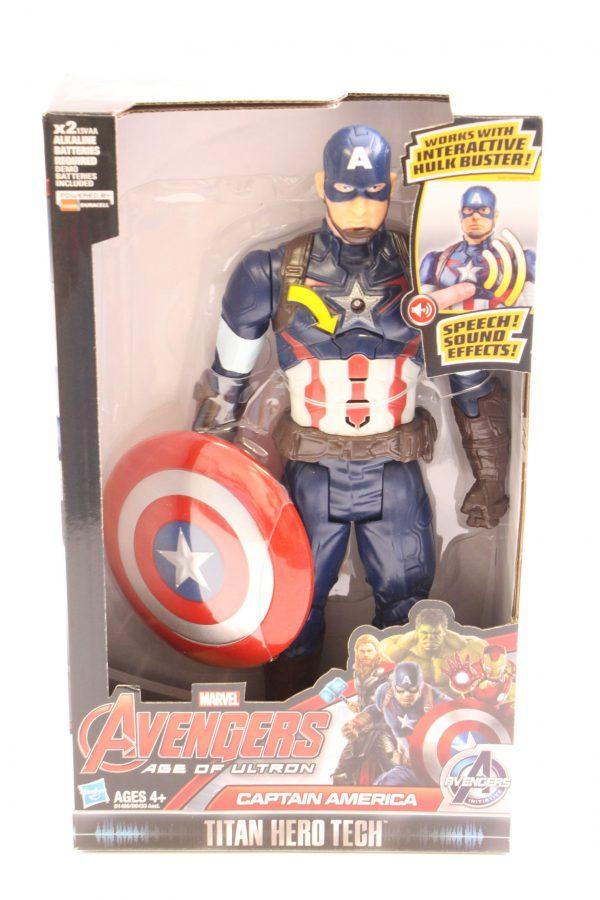 דמות קפטן אמריקה מדברת - MARVEL