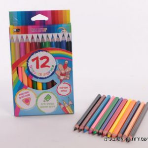 12 עפרונות גמבו צבעוני