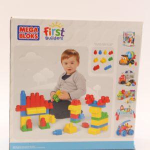 אבני משחק הבניין הראשון – MEGA BLOKS