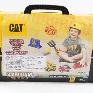 מזוודת כלי משחק לחול CAT