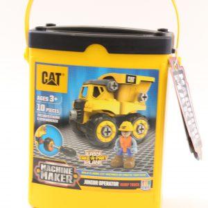 משאית חול מזוודה צהובה להרכבה – CAT