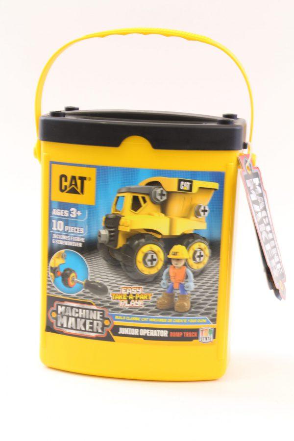 משאית חול מזוודה צהובה להרכבה - CAT
