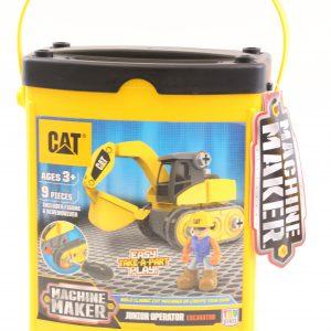 טרקטור כף מזוודה צהובה להרכבה – CAT