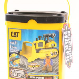 טרקטור D9 מזוודה צהובה להרכבה – CAT