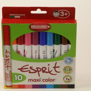 טוש סופר גמבו 10 Fibracolor Esprit