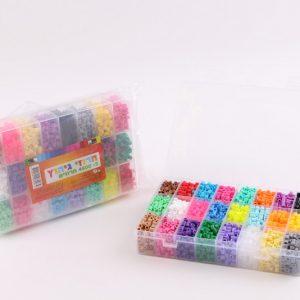 חרוזי גיהוץ צבעוניים בקופסא