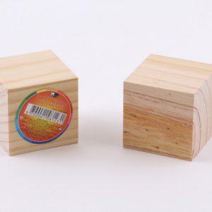 קוביית עץ 6 סמ