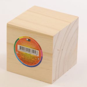 קוביית עץ 8 סמ
