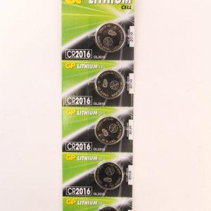 סוללה ליתיום GP-C5 72mA 3V CR2016