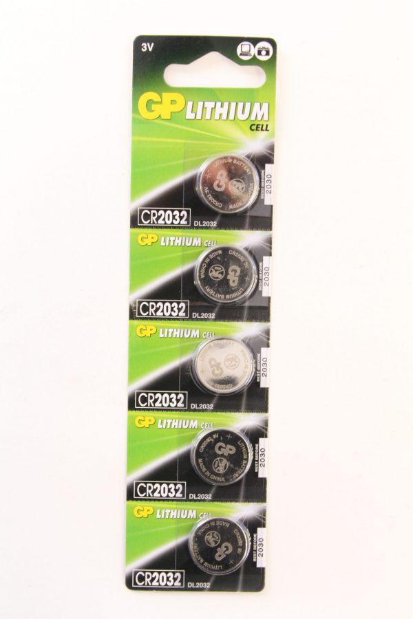 סוללה ליתיום GP-C5 220mA 3V CR2032