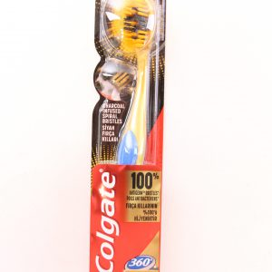 מברשת שיניים קולגייט 360צ'רקואל זהב