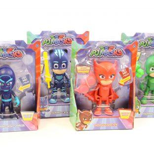 דמויות כוח PJ אורות וקולות