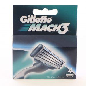 רביעיית סכיני גילוח GILLETTE MACH3