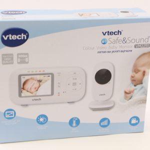 """אינטרקום לתינוק מצלמה+מסך """"2.4"""