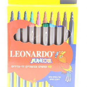 10 טוש דו צדדי – לאונרדו