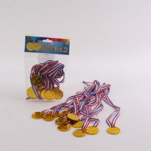 סט 12 מדליות זהב