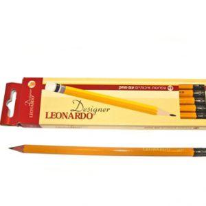 מארז עפרון+מחק – לאונרדו