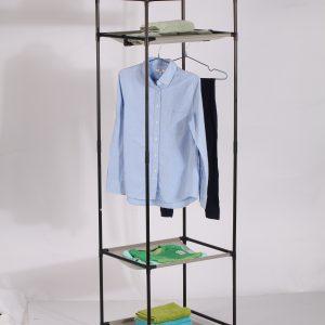 מתקן בגדים יחיד