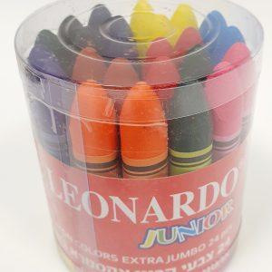 24 יחידות צבעי קריון ארגונומי - לאונרדו