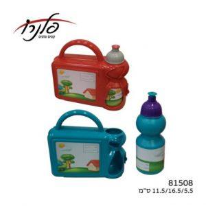 קופסת אוכל+בקבוק ילדים