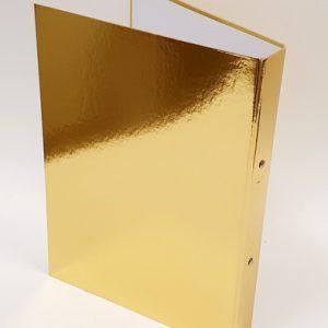 קלסר זהב גב 4