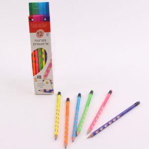 12 עפרונות ארגונומיים