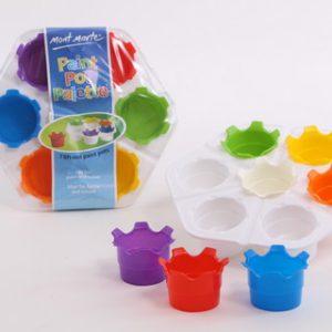 מגש צבעים 7 כוסות