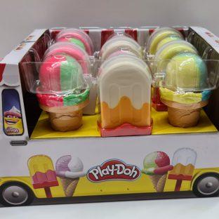 פליידו - מארז אוטו גלידות ענק