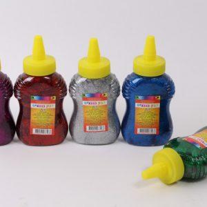 דבק נצנצים צבעוני