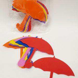 חיתוכי סול מטרייה צבעוני