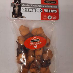 6 חטיפי עוף לכלב