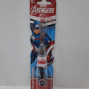 מברשת שיניים מהבהבת קפטן אמריקה