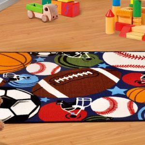 שטיח רצפה דגם ספורט