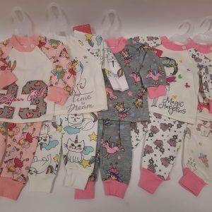 חליפת פיג'מה תינוקות בנות