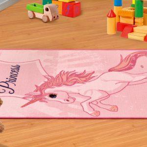 שטיח רצפה דגם חד קרן