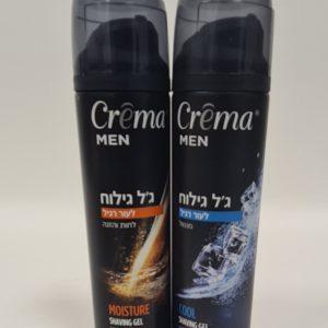 CREMA – ג'ל לגילוח